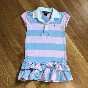 Polo Dress - 3/4T